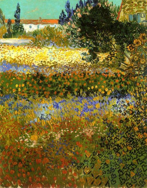 Flowering Garden 1888